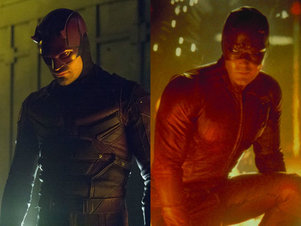 Daredevil: Live Action Suits Throughout The Years